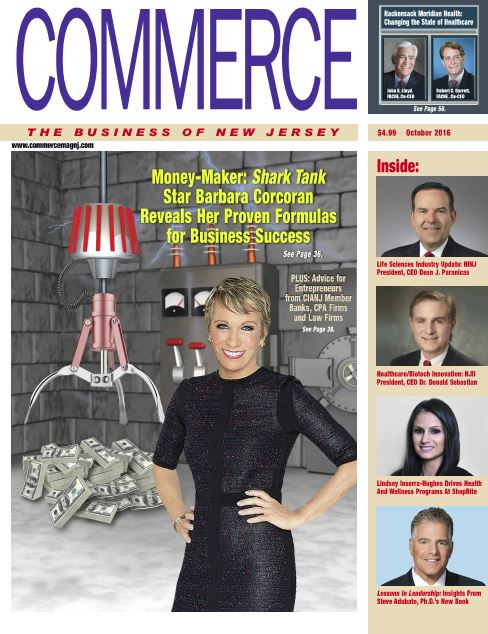 Commerce magazine cover