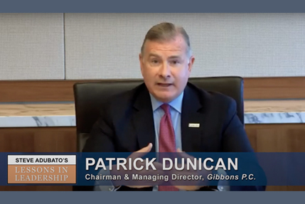 Lessons In Leadership: Patrick Dunican