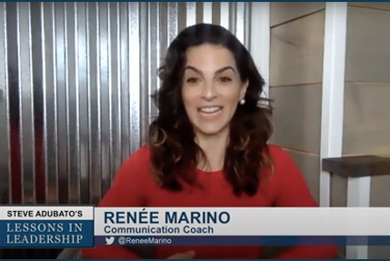 Lessons in Leadership: Renée Marino and Eric LeGrand