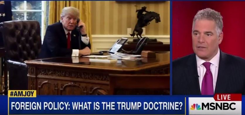 Steve Adubato Talks Trump's Leadership Style Post Syria Attack on MSNBC